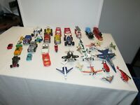 Lot of 37 pc toys cars,trains, and planes All Sizes