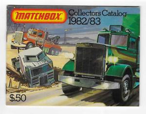 1982-83-MATCHBOX COLLECTORS CATALOG-DIECAST