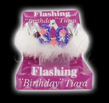 30th Lampeggiante Compleanno Tiara Regalo Ragazze Notte Fuori