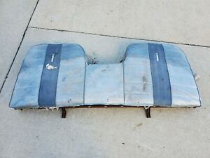 1965-1966 Ford Galaxie 500 XL Rear Seat Back 7 Litre S55 Monterey 65 66 Bench