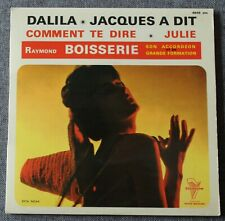 Raymond Boisserie & son accordeon, Jacques à dit , EP - 45 tours
