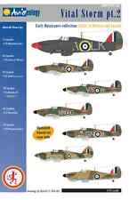 Vital Storm part 2: Early RAF Hurricanes – 1/72 scale Nicolson VC update only