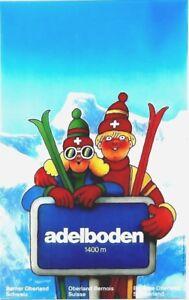 Original vintage poster ADELBODEN SWISS ALPS SKIERS c.1970