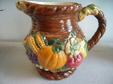 China Bico Fruit and Vegetable Design Pitcher