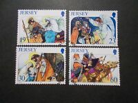Jersey 1996 Commemorative Stamps~Christmas~Very Fine Used Set~UK Seller