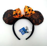Disney Parks Minnie Mouse Ears Cute Halloween Party Mickey Sequins Cos Headband