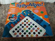 Vintage Stay Alive Game 1993 by MB games new and unused condition