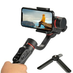 3-Axis Gimbal Stabilizer Smartphone Video Record iPhone Youtuber Reporter Travel