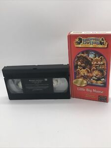 PBS Kids Between The Lions Little Big Mouse VHS Short I Sound Reading Learning