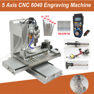 5 Axis CNC Engraving Machine 6040 Carving Drilling Milling Router Engraver 2200W