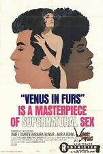 VENUS IN FURS Movie POSTER 27x40 James Darren Klaus Kinski Barbara McNair Dennis