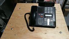NORTEL NORSTAR MERIDIAN M7310 BUSINESS PHONES BLACK W/ NT8B91CA-03