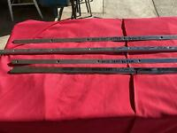 """1955 56 57 CHEVY NOMAD BELAIR WAGON  """"GM ORIGINAL"""" rear seat  STAINLESS  4 piece"""