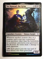 SYR Konrad, the Grim FOIL     Mtg Magic English