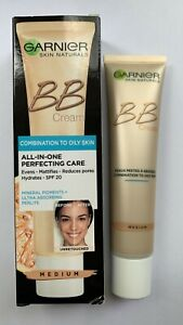 GARNIER BB Combination to Oily Skin Perfecting Care All In One SPF20 40ml MEDIUM