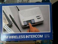 Com-Talk - Intercom sans fil FM - 3 Canaux, position baby-phone - Neuf