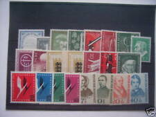 ALEMANIA / GERMANY BUND - COMPLETE YEAR 1955, MNH (90% DISCOUNT Cat.)