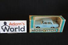 USSR model Moskvitch 1:43 Taxi, blue (JMR)