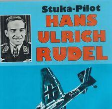 Stuka Pilot Hans-Ulrich Rudel 1990 1st Edition HC BOOK