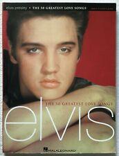 Elvis Presley - The 50 Greatest Love Songs by Elvis Presley Paperback