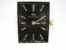 Antique Gents Movado Factories Watch Movement 19.5 mm, 17 jewels. #246