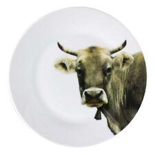 Teller 19cm SCHWEIZER Kuchen Dessert Kühe Porzellan Frühstücks Motiv Porzellan