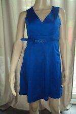 VÊTEMENTS FEMME - superbe robe bleu électrique VERO MODA T 36 - TB état