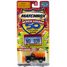 Matchbox Across America ND North Dakota Highway Maintenance Truck #39 50th B'day