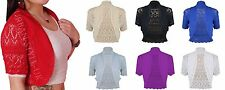 Unbranded Women's Thin Knit Boleros Shrugs Jumpers & Cardigans