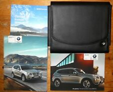 BMW X3 xdrive OWNERS HANDBOOK +WALLET years 2010-2014 (REF6693)