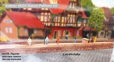 Vollmer 49525 Z Scale Train Station Passenger Platform  Kit *NEW $0 SHIP