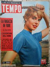 tempo 1957 cover lilli cerasoli proust rivista riviste italian magazine rare xxx