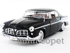 MOTORMAX 73302 1955 55 CHRYSLER C300 1/24 DIECAST BLACK