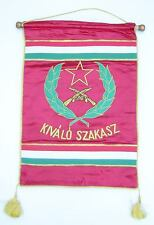 HUNGARY - EXCELLENT PLATOON AWARD FLAG
