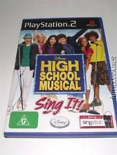 High School Musical Sing It Singstar PS2 PAL Preloved *Complete*