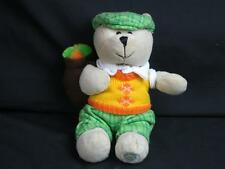 PLUSH YELLOW PLAID GREEN FATHERS DAY GOLFER GOLF BAG 50TH ED 2006 BEARISTA BEAR