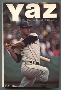 Yaz 1968-Carl Yastrzemski-Al Hirshberg -1st edition w/ dust jacket-baseball h...