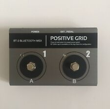 Positive Grid BT-2 Bluetooth Midi Footswitch BT2 BT - 2