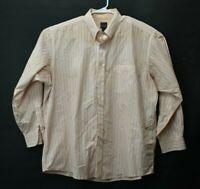 Jos. A. Bank Traveler's Collection Men's XXL Long Sleeve Striped Button Up Shirt