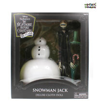 Nightmare Before Christmas Snowman Jack Deluxe Cloth Doll (Diamond Select Toys)