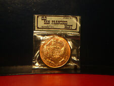San Francisco Copper Medallion 1874 - 1937 In Mint Package  Very Nice  !!!!!
