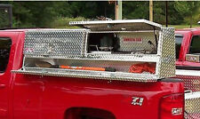 """Truck Tool Box 96"""" Topsider with compartments High Side Top Mount Toolbox"""