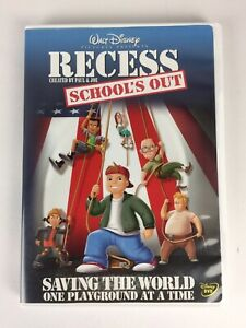Recess - Schools Out - Saving the World one Playground at at Time dvd