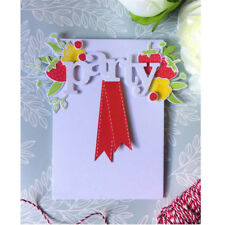 Letter Words you Metal Cutting Dies For DIY Scrapbooking Card Craft Decor