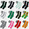 Unisex Womens Mens Marijuana Long Cotton Sports Weed Leaf Socks Ankle Socks Crew