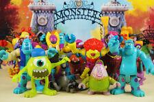Disney Pixar Monster Inc University Sulley & Friends Figure Cake Topper Set 5
