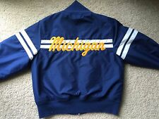 VINTAGE UNIVERSITY OF MICHIGAN WOLVERINES Jacket Speedo vtg college ncaa big ten