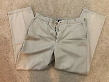 Men's Nautica Relaxed Fit Clipper Ivory Chino Pants 36 x 32
