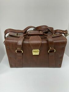 Vintage Tucky Leather Apothecary Style Camera Bag