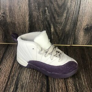 Nike Air Jordan Retro XII 12 Desert Sand Purple Sand 819666-001 Toddler Size 9C